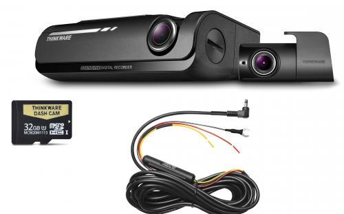 F770D32 Front & Rear Dash Cam + Hardwire Kit -